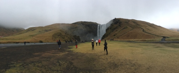 Skogafoss from afar