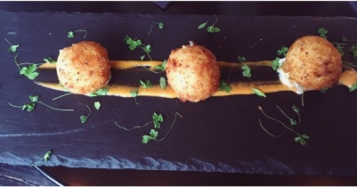 Fishcakes - smoked salmon and prawn