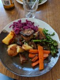 Vegan sunday lunch from Wild Thing